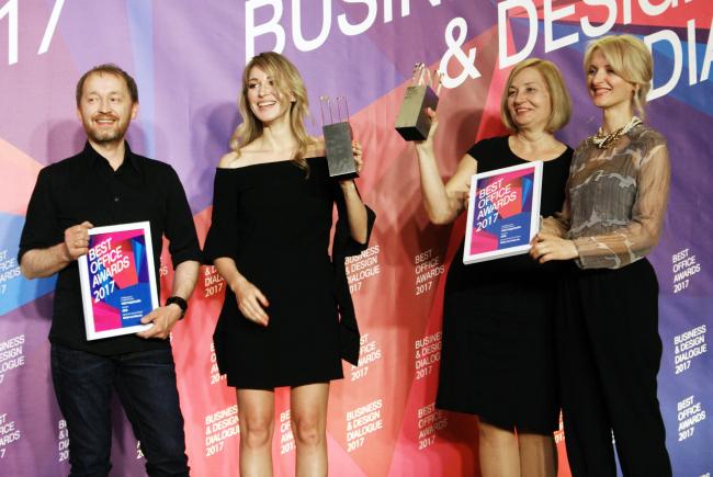 Церемония награждения победителей премии Best Office Awards. Архитектурное бюро MAD Architects.  Фотография © Дмитрий Павликов