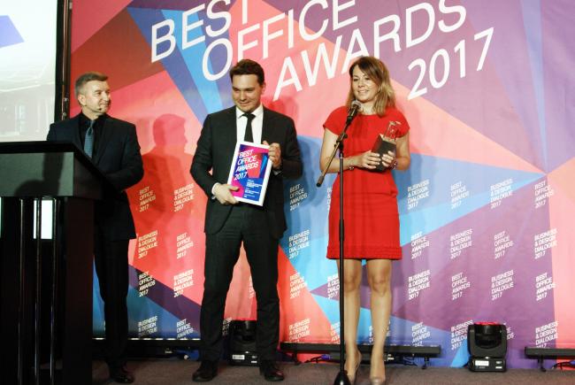 Церемония награждения победителей премии Best Office Awards. Архитектурная студия HBA. Фотография © Дмитрий Павликов