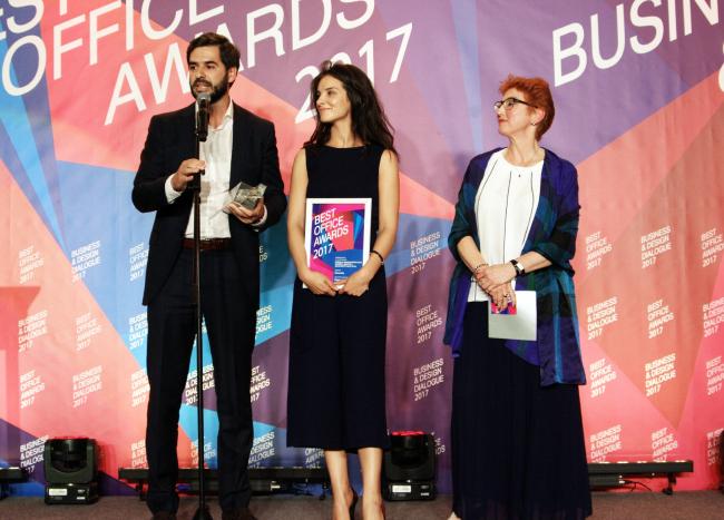 Церемония награждения победителей премии Best Office Awards. Архитектурная студия Cigler Marani Architects. Фотография © Дмитрий Павликов