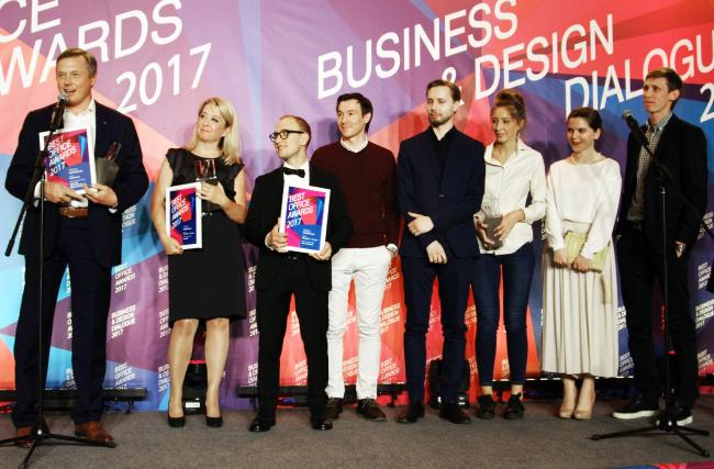 Церемония награждения победителей премии Best Office Awards. Архитектурное бюро IND Architects. Фотография © Дмитрий Павликов