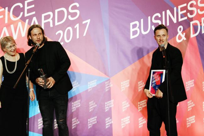 Церемония награждения победителей премии Best Office Awards. Архитектурное бюро mode:lina. Фотография © Дмитрий Павликов