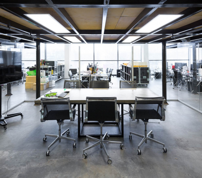 Офис бюро Kleinewelt architekten © Архитектурное бюро Kleinewelt Architekten