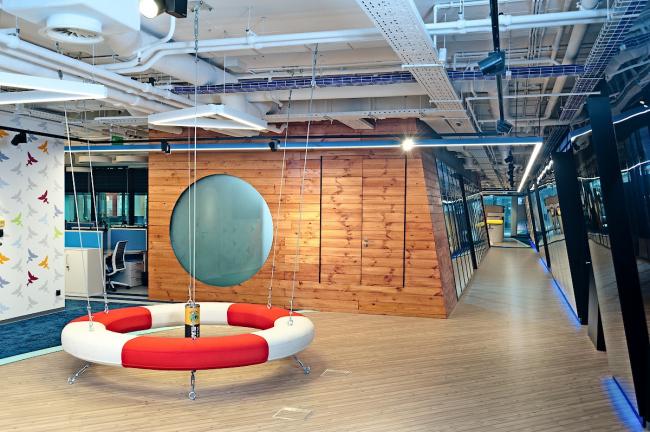 Офис компании Avito в Москве © Архитектурное бюро ABD architects