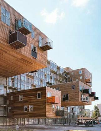 MVRDV. Wozoco's Appartments Amsterdam-Osdorp, Netherland, 1994-97