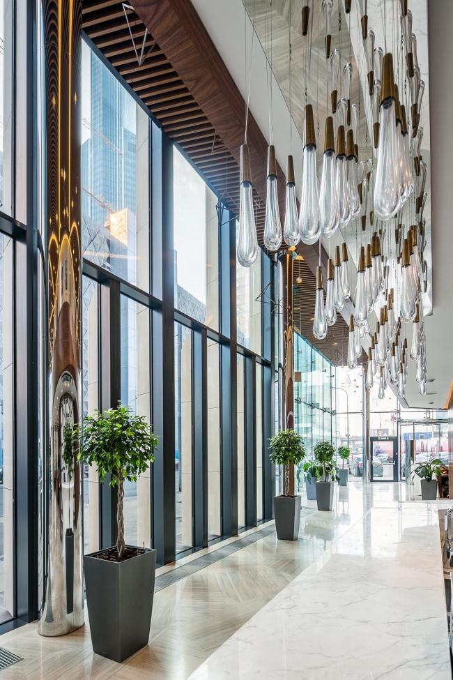 Шоу-рум комплекса Neva Towers © Архитектурная студия HBA