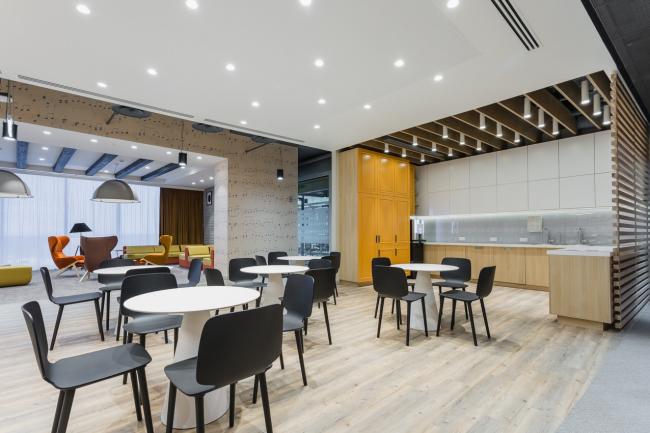 Офис компании Microsoft © Архитектурное бюро UNK project