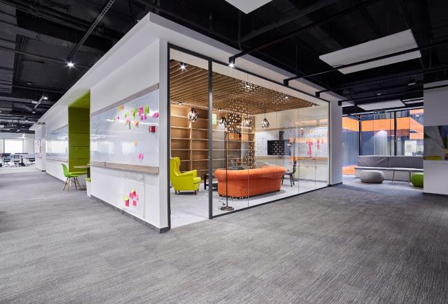 Сбербанк, 14 этаж © Архитектурное бюро Aurora Group