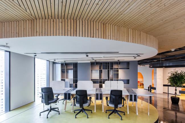 Коворкинг-14 © Архитектурное бюро Megabudka