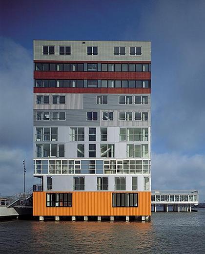 MVRDV. Silodam, Amsterdam, 2002