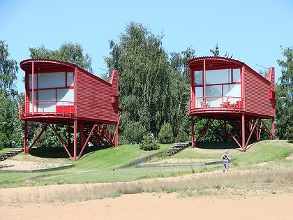 Тотан Кузембаев. Гостевые домики в Пирогово