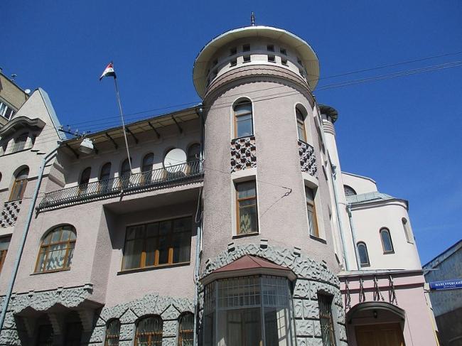 Доходный дом П.В.Лоськова, 1906 г., архитектор А.У.Зеленко. Фото предоставлено организаторами.