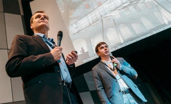 Андраш Хайдеккер (Andras Haidekker) и Егор Кудриков.  Фотография © GRAPHISOFT