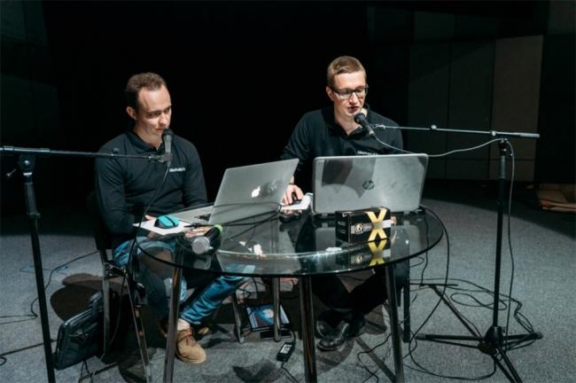 Николай Землянский и Кирилл Кондратенков. Фотография © GRAPHISOFT