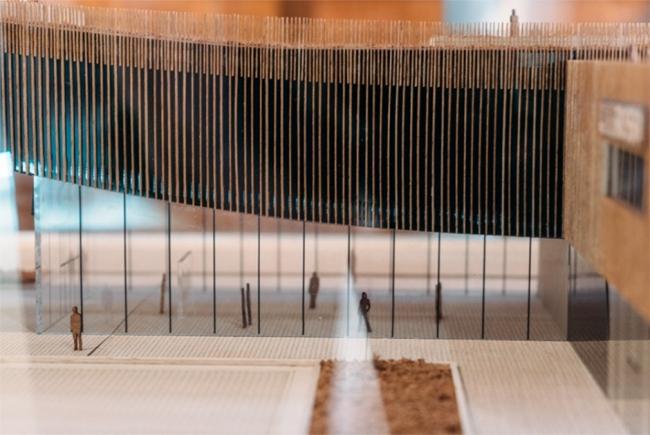 Макет павильона России на ЭКСПО-2015 в Милане (АБ SPEECH). Фотография © GRAPHISOFT