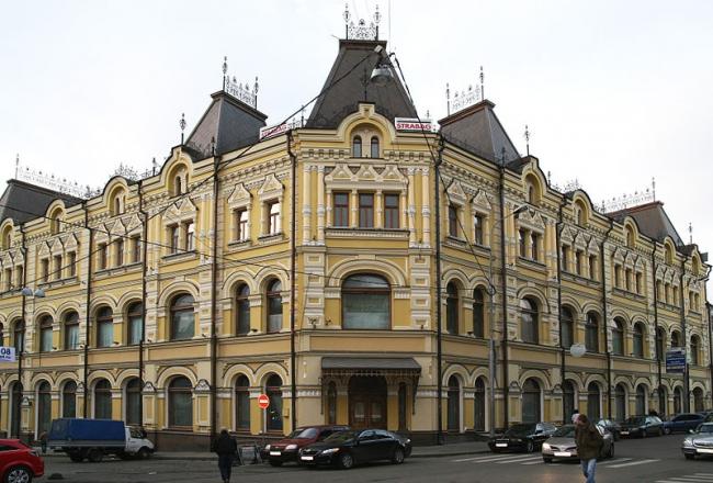 Реставрация доходного дома Третьяковых. Фото: Moreorless via Wikimedia Commons. Лицензия CC BY-SA 3.0