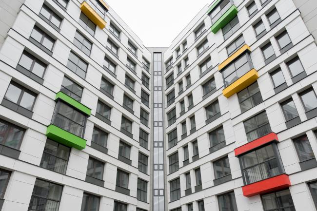 """Severny"" housing project. Units 7,8. Photo  © Ilia Ivanov"
