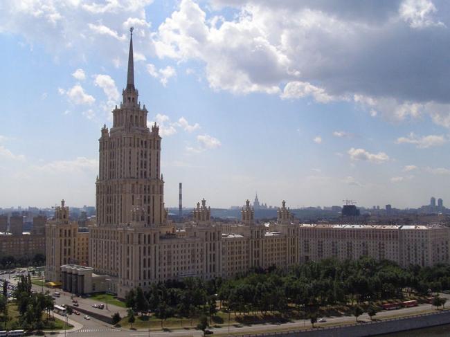 Гостиница «Украина». Фотография, 2006 год. Фото: Bilbi via Wikimedia Commons. Лицензия CC-BY-SA-3.0