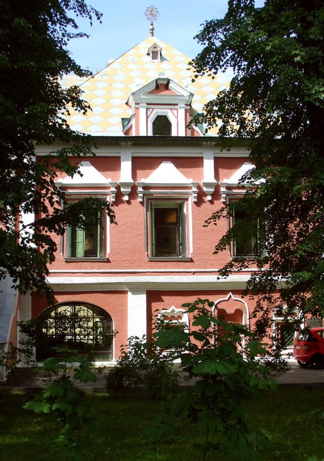 Реставрация палат Волковых – Юсуповых. Фото: NVO via Wikimedia Commons. Лицензия CC BY 2.5