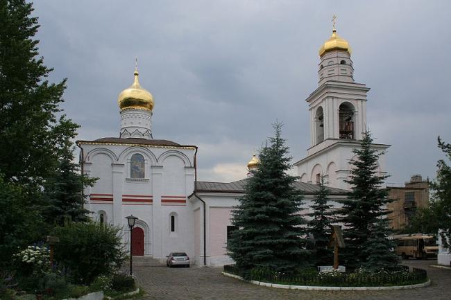 Церковь Рождества в Старом Симонове. Фото: A.Savin via Wikimedia Commons. Лицензия CC BY-SA 3.0