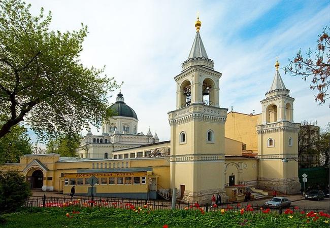 Иоанно-Предтеченский монастырь. Реставрация. Фото: Геннадий Климов via Wikimedia Commons. Лицензия CC-BY-SA-3.0