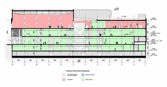Реконструкция кинотеатра «Патриот» © ООО «Спектрум-Холдинг». Предоставлено пресс-службой «Москомархитектуры»