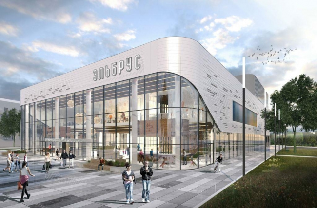 Реконструкция кинотеатра «Эльбрус». Фото: Проектное бюро «Крупный План». Предоставлено пресс-службой «Москомархитектуры»