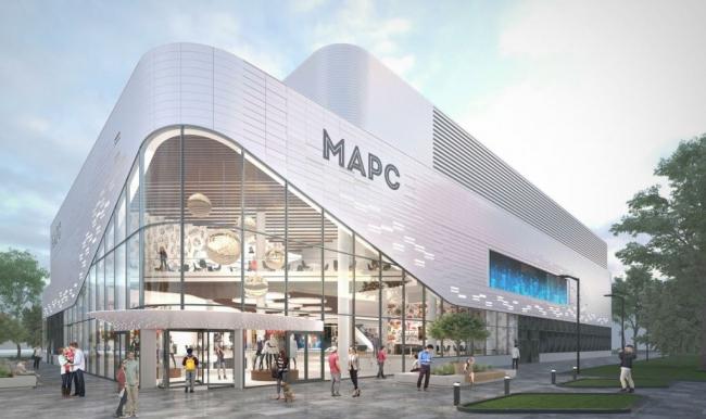 Реконструкция кинотеатра «Марс» © Проектное бюро «Крупный План». Предоставлено пресс-службой «Москомархитектуры»