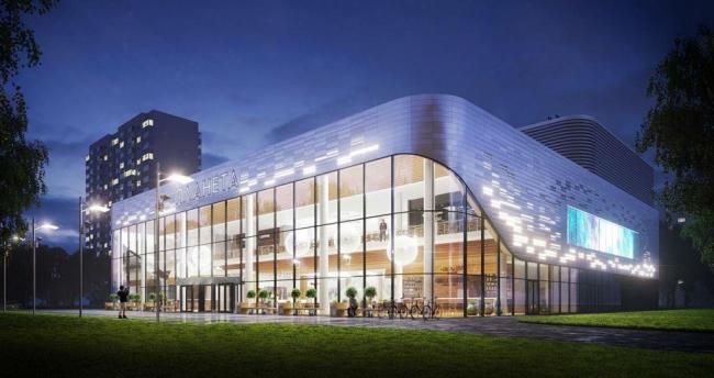 Реконструкция кинотеатра «Планета» © Проектное бюро «Крупный План». Предоставлено пресс-службой «Москомархитектуры»