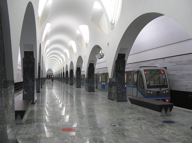 Станция метро «Волоколамская» © ОАО «Метрогипротранс»