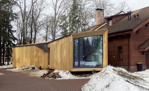 Extention #1. Архитектор Григорий Дайнов (DK architects)
