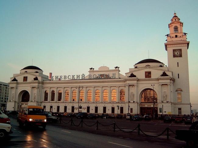 Реставрация Киевского вокзала. Фото: Barnaul~commonswiki via Wikimedia Commons. Фото находится в общем доступе
