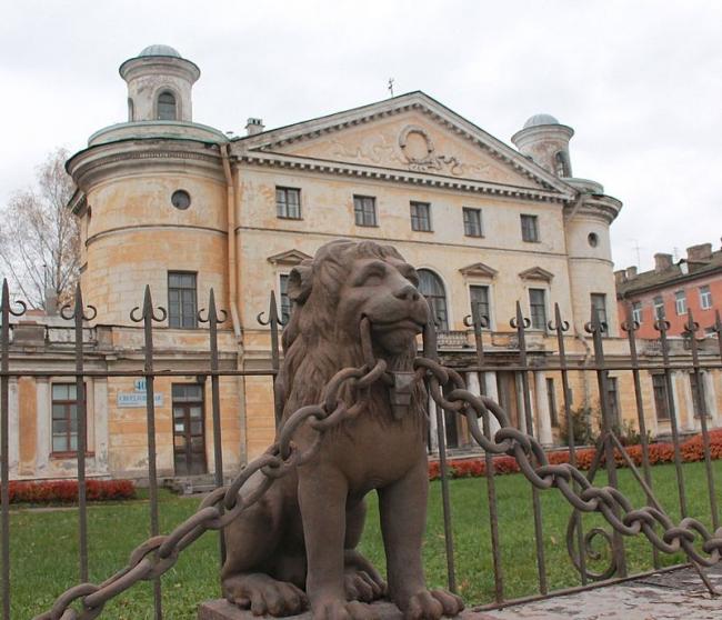 Реставрация дачи Безбородко. До реставрации. Фото via Wikimedia Commons. Фото находится в общем доступе