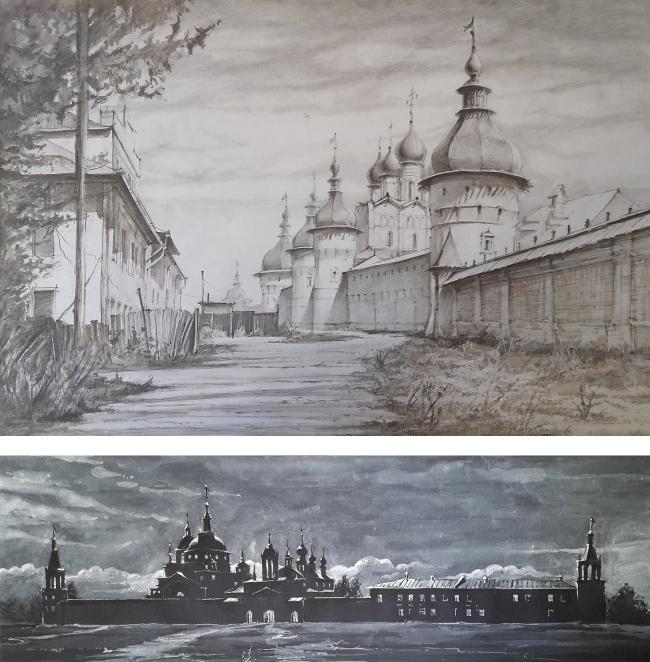 Работа Гурьянова Никиты, 3-й курс. МАРХИ, 2017