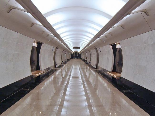 Станция метро «Международная» в Москве