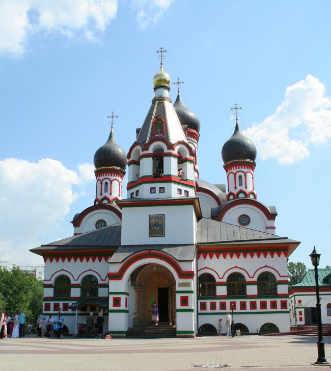 Реставрация храма Живоначальной Троицы в Старых Черёмушках. Фото: A.Savin via Wikimedia Commons. Лицензия CC BY-SA 3.0
