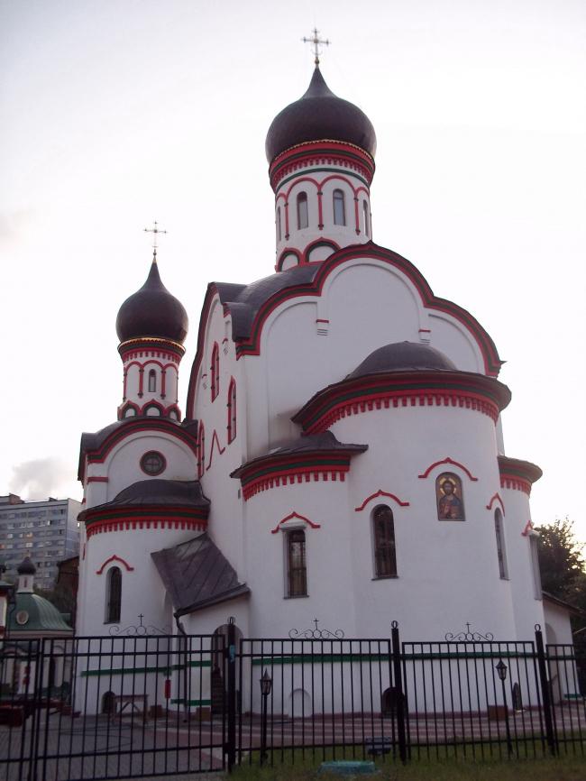 Реставрация храма Живоначальной Троицы в Старых Черёмушках. Фото: Mvad via Wikimedia Commons. Фото находится в общем доступе