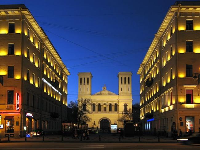 Реставрация лютеранской церкви Петра и Павла в Санкт-Петербурге. Фото: Mu-xa via Wikimedia Commons. Лицензия CC BY-SA 3.0