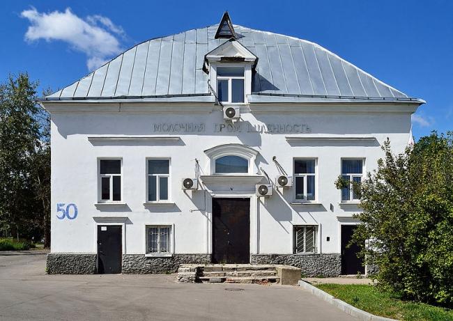 Павильон «Молочная промышленность». Фото: Д. Иванов via Wikimedia Commons. Лицензия CC BY-SA 3.0