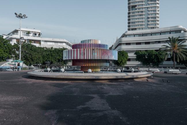 Площадь Зины Дизенгоф. Фото © Денис Есаков