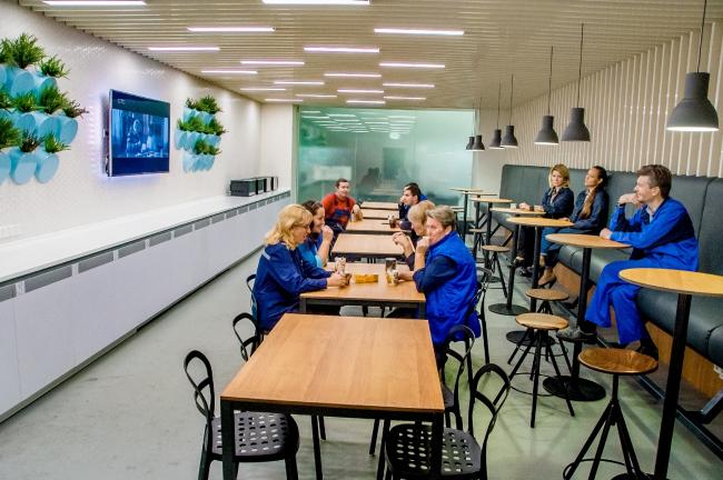 Машиностроительный завод в Электростали. Архитектурное бюро «Антон Мосин и партнеры». Фотография предоставлена агентством ProjectNext