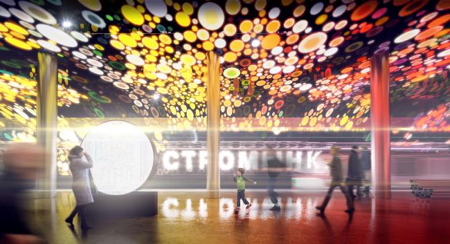 Конкурсный дизайн-проект станции «Стромынка». UNK Project. Изображение предоставлено Агентством стратегического развития «ЦЕНТР»
