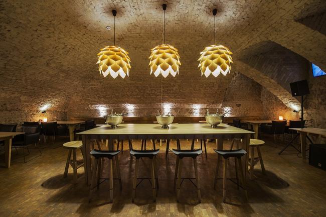 Крафтовый бар Parka © Архитектурное бюро Archpoint