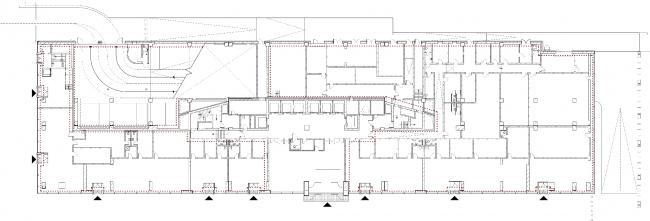 Бизнес-центр «Академик». Первый этаж © UNK project