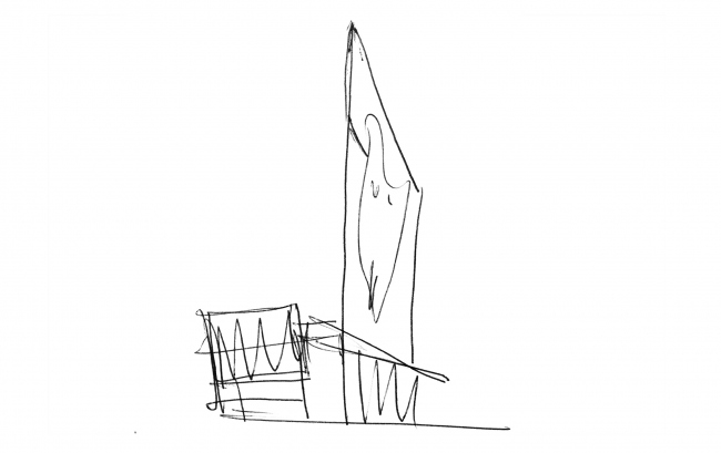 """""""Academic"""" business center. Sketch © UNK project"""