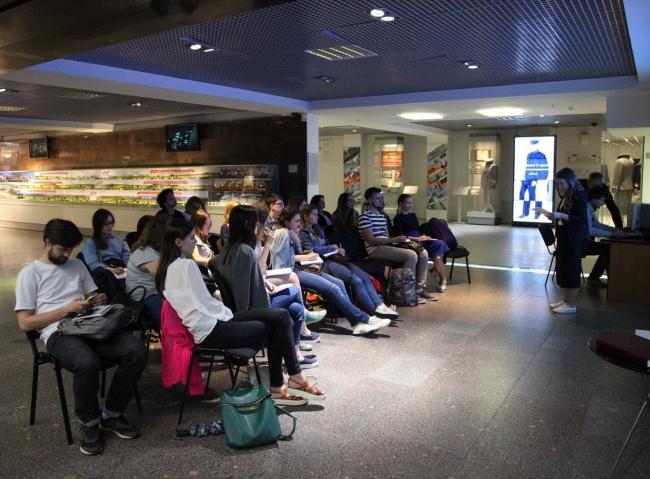 Лекция курса «Музей, Транспорт, Наследие». Фотография © AFF
