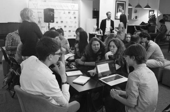 На семинаре школы «AFF-Фундамент архитектурного будущего» 2016. Курс «Музей, Транспорт, Наследие». Фотография © AFF