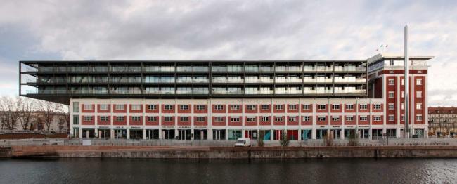 Жорж Хайнц. Реконструкция доков Мальро в Страбурге  © Heintz-Kehr Architectes