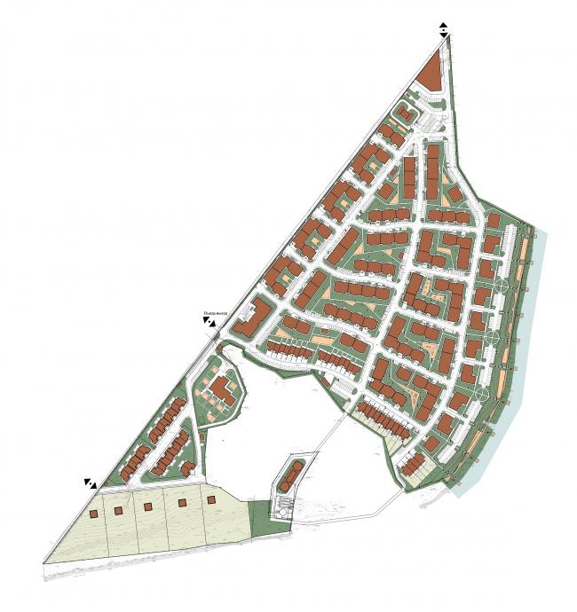 Жилой комплекс «Андерсен» © Архитектуриум