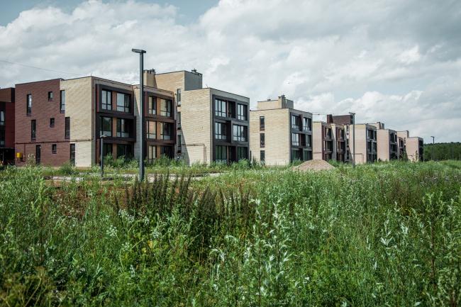 """Andersen"" residential complex. Construction, 2016 © Arkhitekturium"