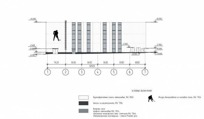 Всесезонный каток в спорткомплексе «Олимпийская деревня-80» © ООО «Метрополис». Предоставлено пресс-службой «Москомархитектуры»